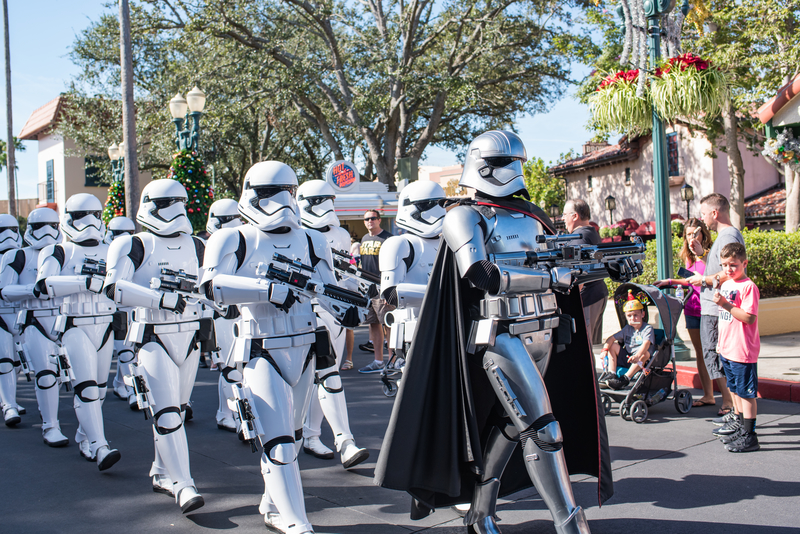 storm-troopers-walking-through-star-wars-galaxys-edge-grand-opening-one-reason-to-visit-disney-world-in-2020
