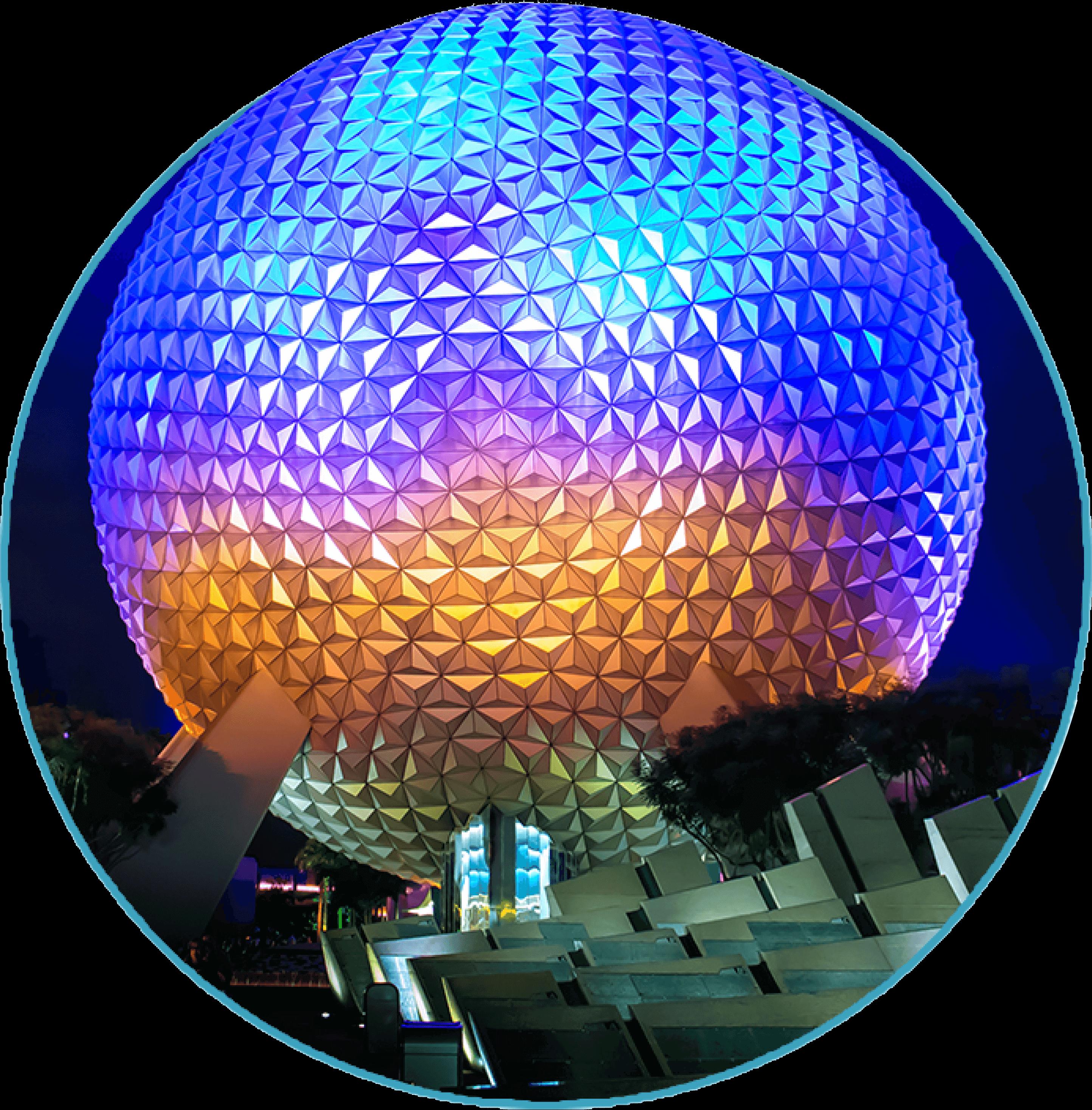 1 Day Plan to Epcot Theme Park Orlando Florida