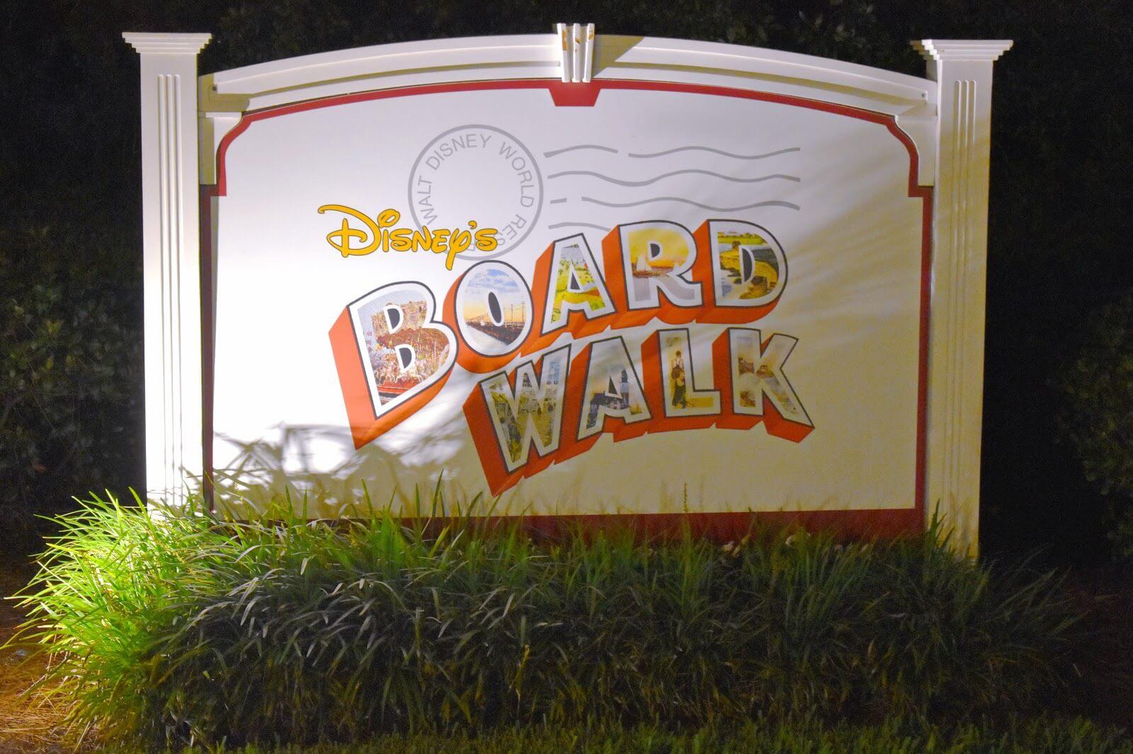 Disney's Board Walk Dining Options