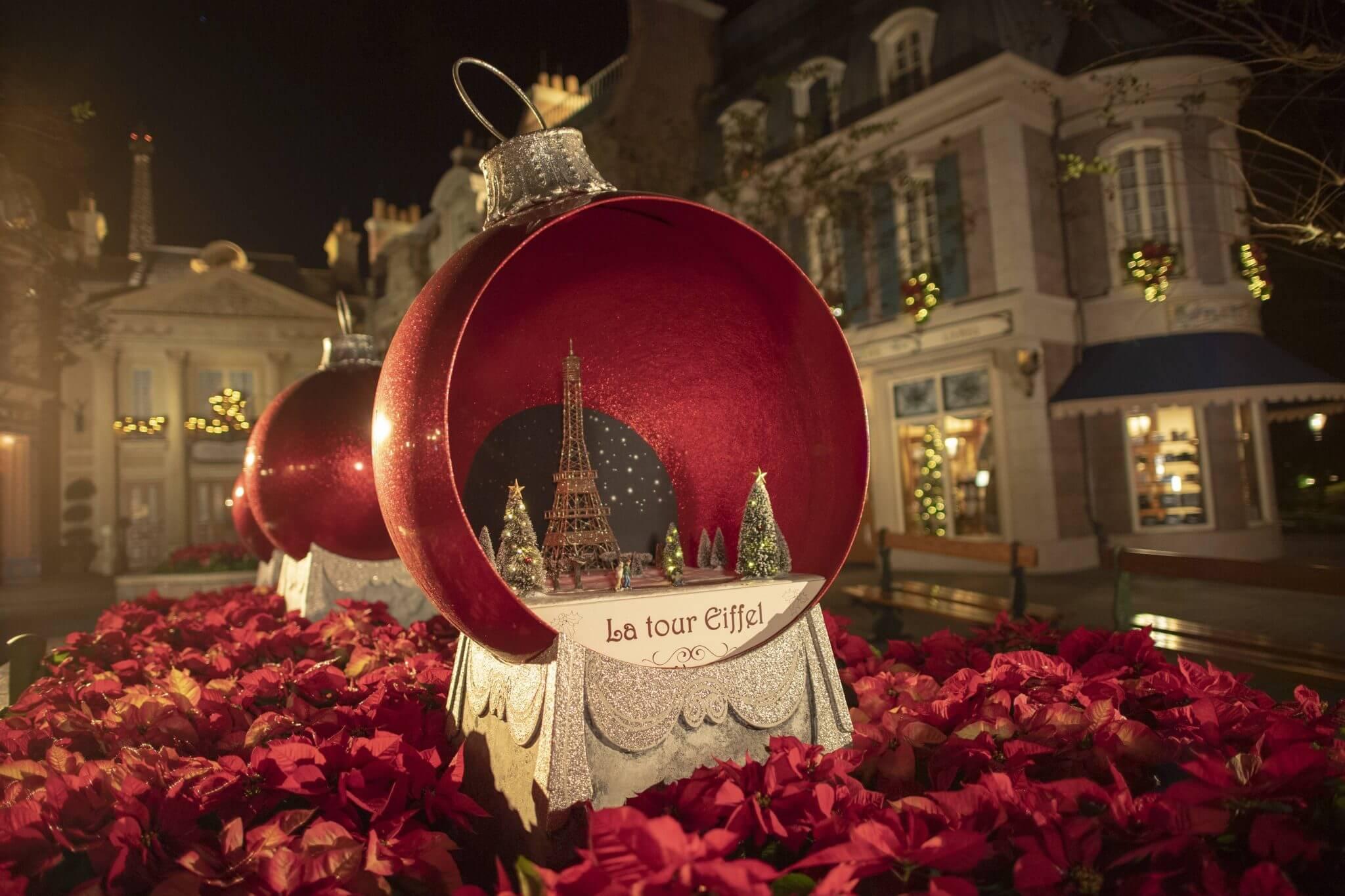 Disneyc Christmas Decoration Epcot Festival of the Holidays