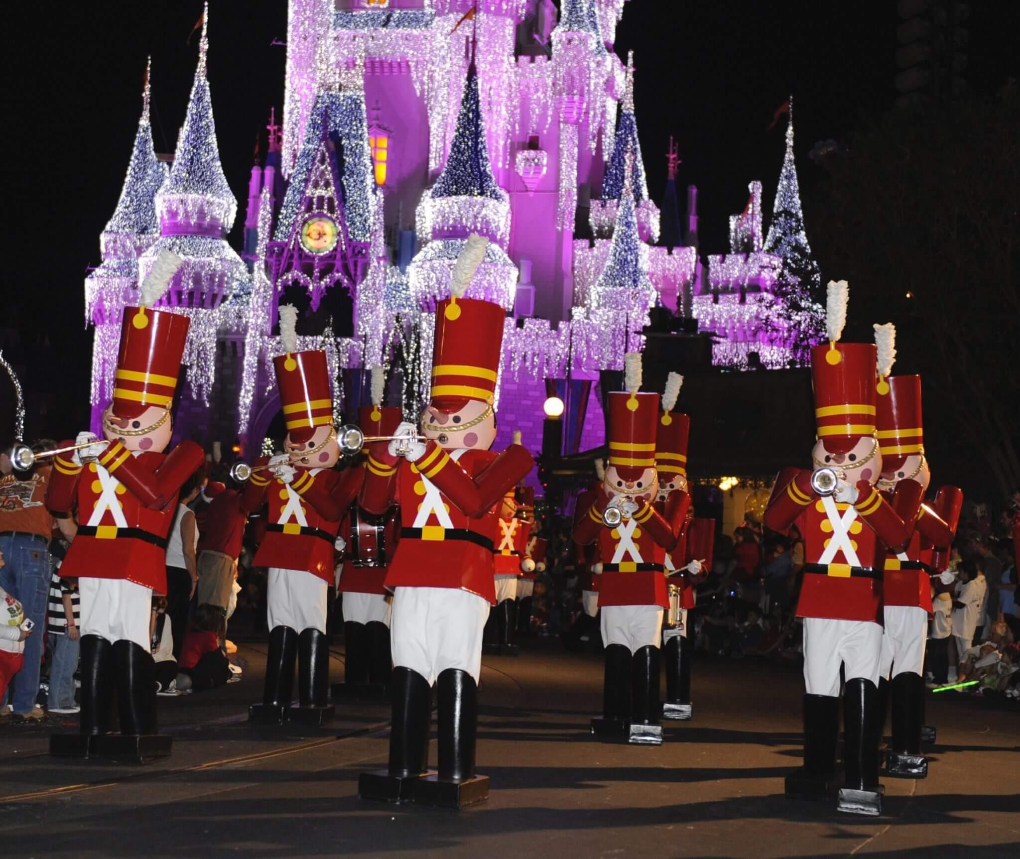 Mickeys Once Upon a Christmas Parade