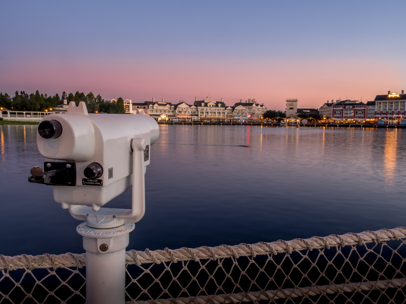 disney-boardwalk-resort-early-morning-view