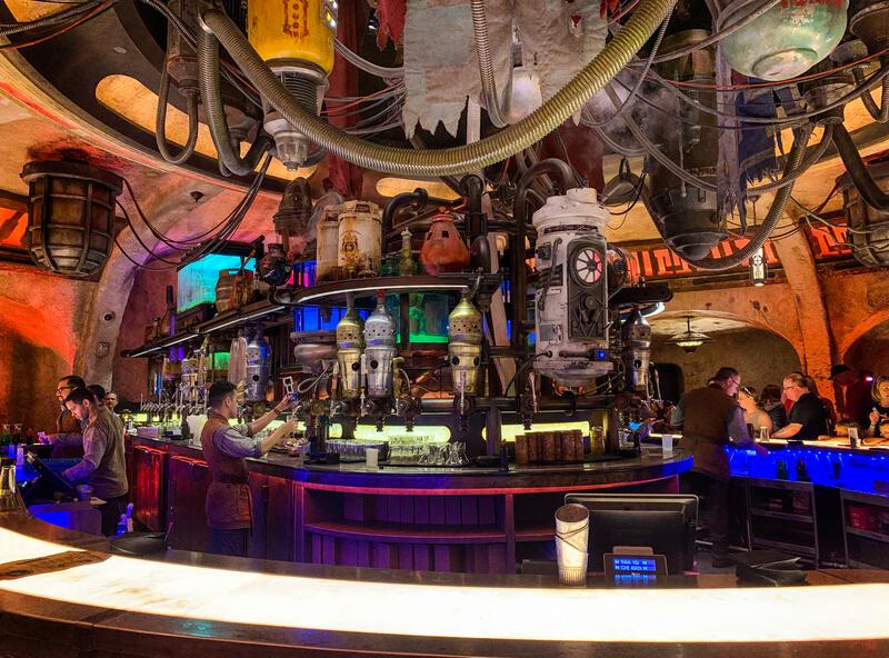 Oga's Cantina Disneyland
