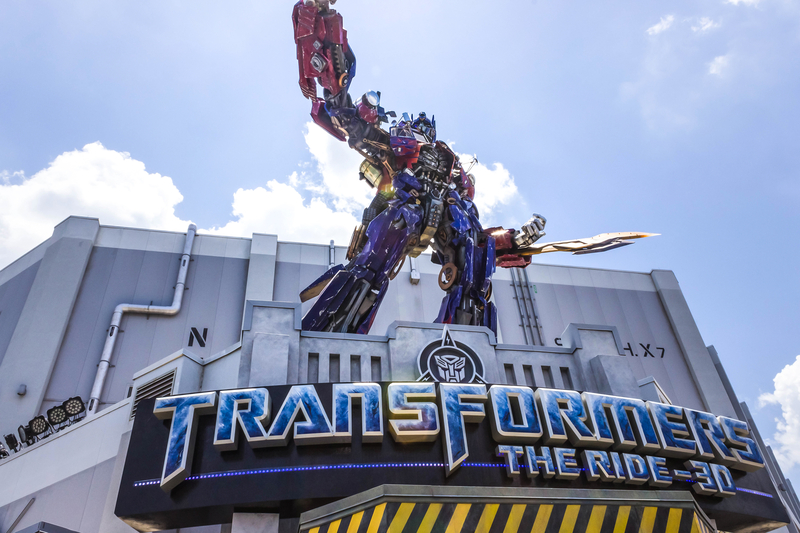 Transformers Ride Universal Studios