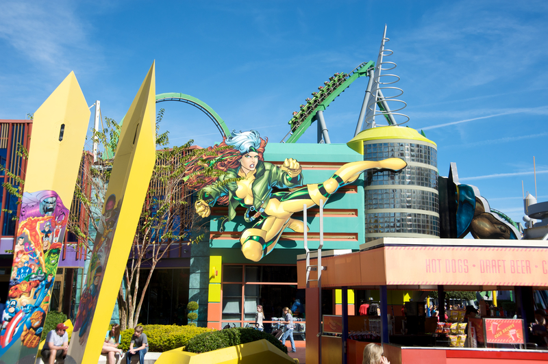 Incredible Hulk Coaster Universal