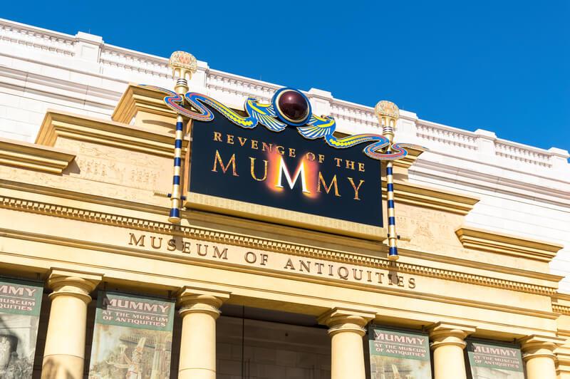 Revenge of the Mummy Ride Universal Studios