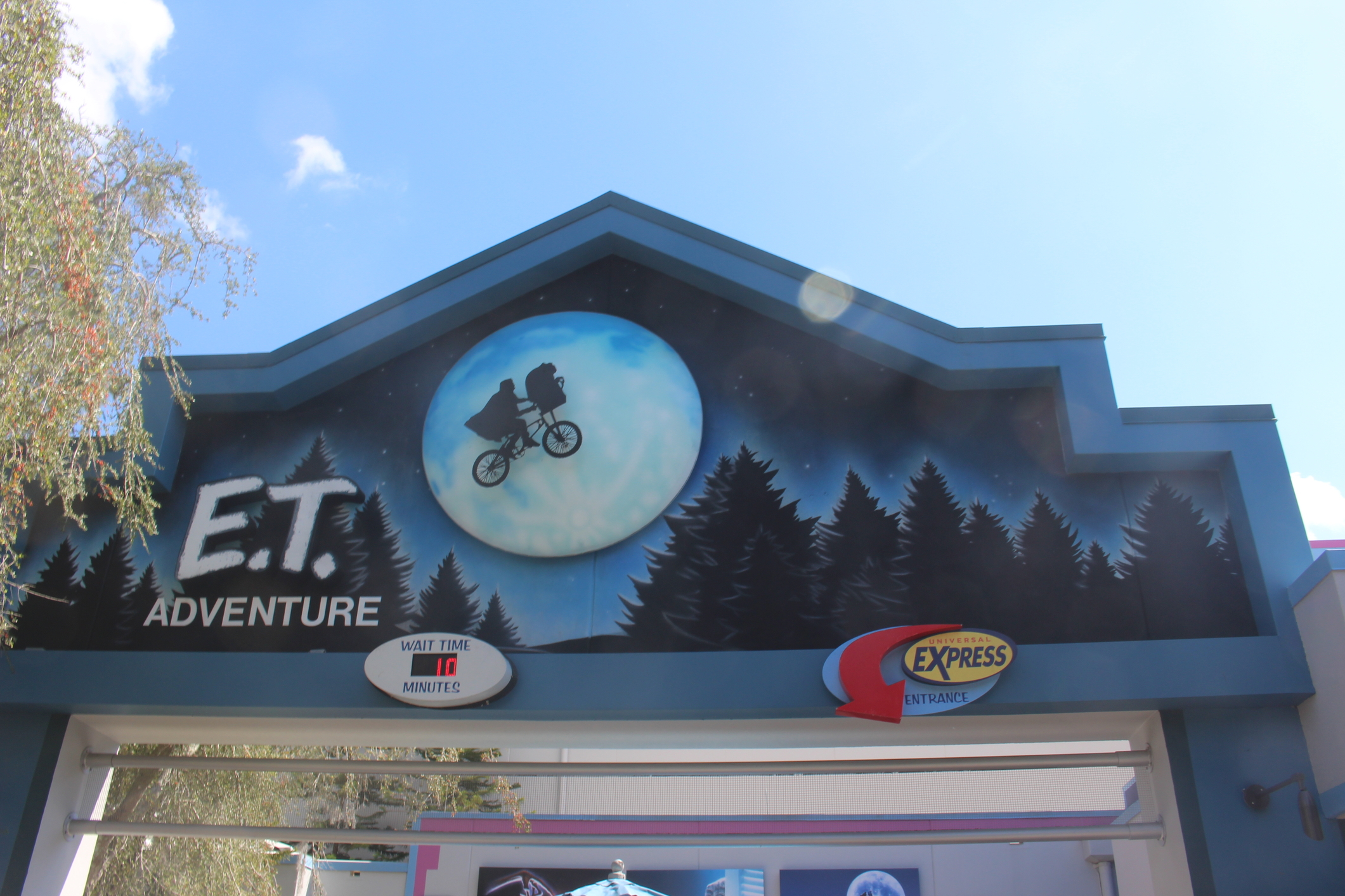 E.T. Adventure Universal Studios Rides