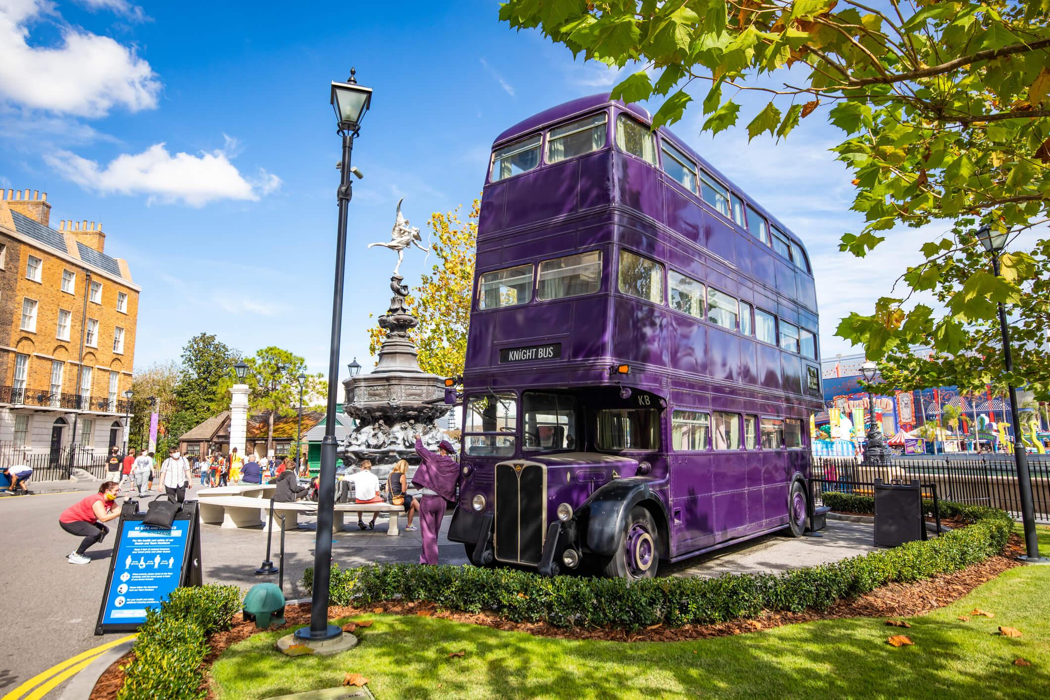The Knight Bus Universal Studios